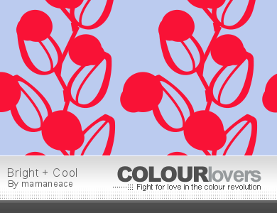 Colourlovers Pattern - Bright + Cool