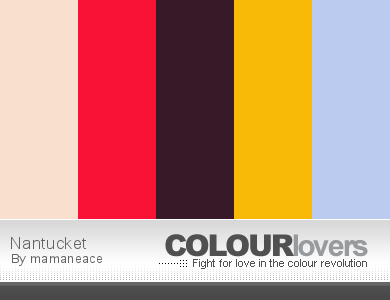 Colourlovers Palette - Nantucket