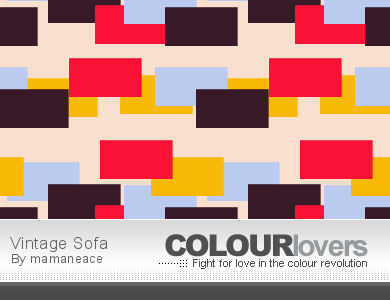 Colourlovers Pattern - Vintage Sofa