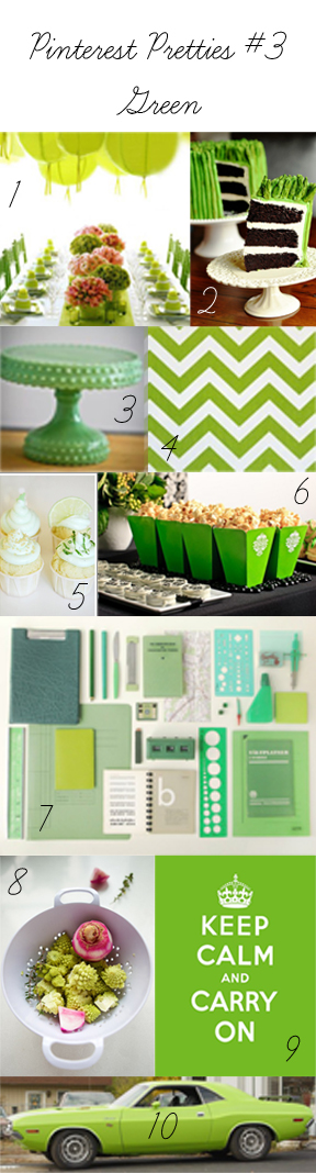 Pinterest Pretties #3 - Green