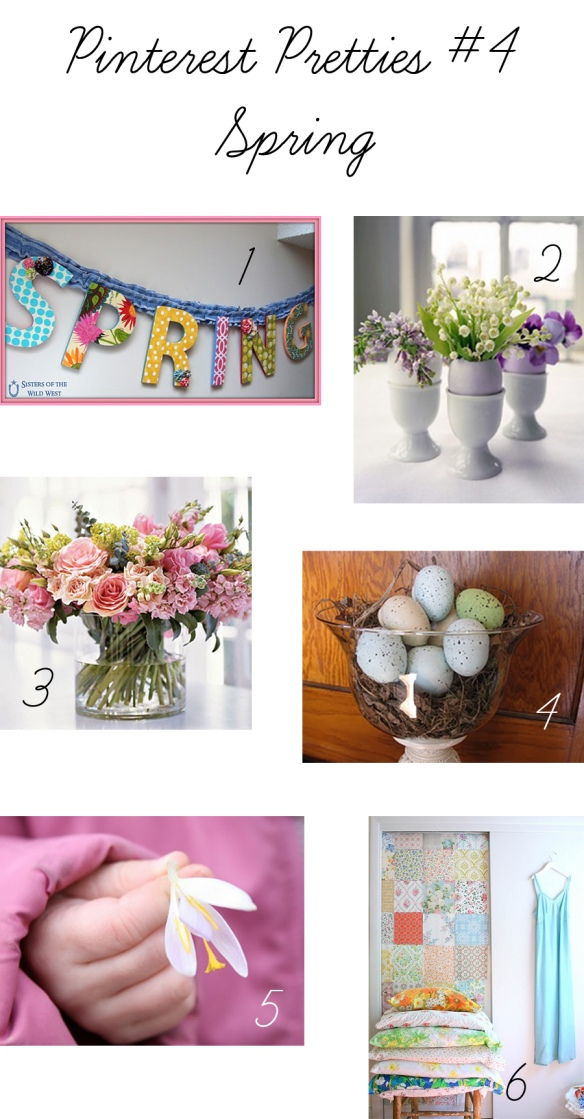 Pinterest Pretties #4 - Spring