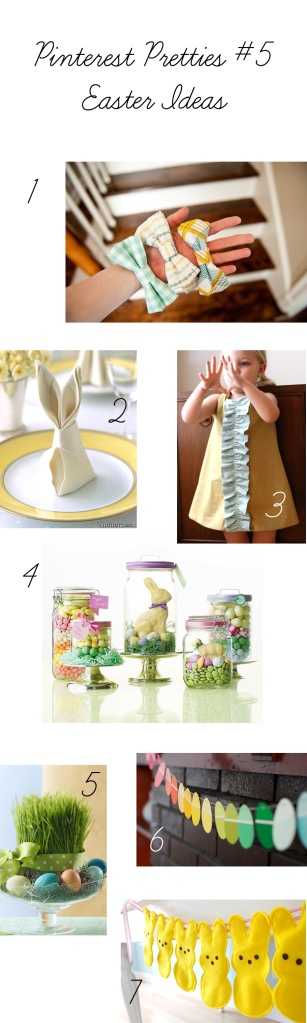 Pinterest inspiration for Easter